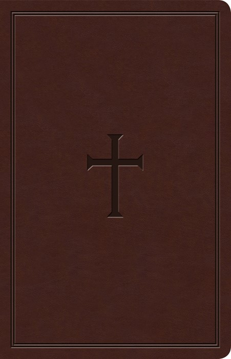 KJV Ultrathin Reference Bible, Brown LeatherTouch, Indexed (Imitation Leather)
