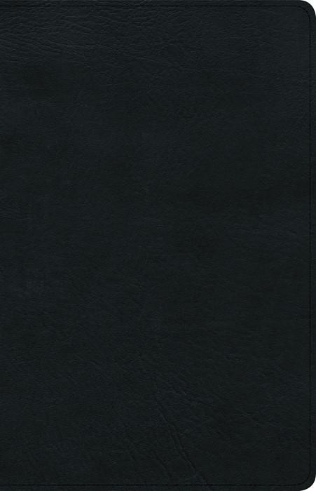 KJV Ultrathin Reference Bible, Black Genuine Leather, Indexe (Imitation Leather)