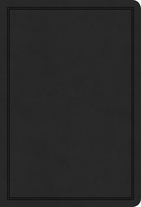 KJV Deluxe Gift Bible, Black LeatherTouch (Imitation Leather)