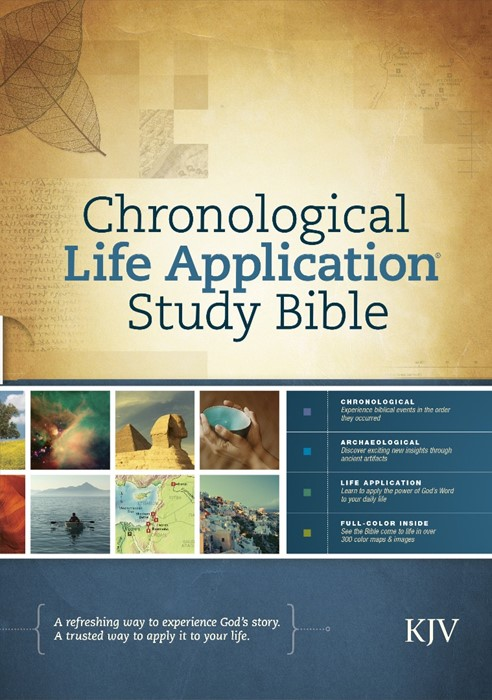 KJV Chronological Life Application Study Bible (Hard Cover)