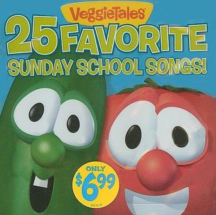 25 Favourite Sunday School Songs CD (CD-Audio)