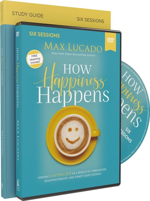 How Happiness Happens Study Guide with DVD (Paperback w/DVD)