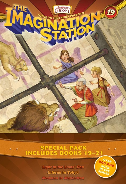 Imagination Station Books 19-21 Pack (Paperback)