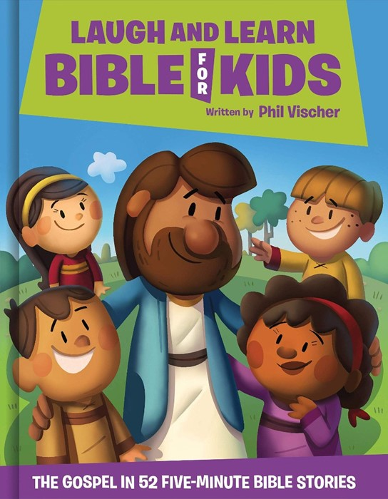 Laugh and Learn Bible for Kids (Hard Cover)
