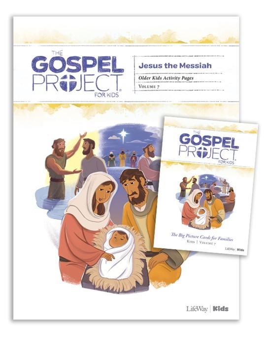 Gospel Project: Older Kids Activity Pack, Spring 2020 (Kit)