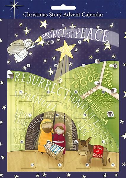 Prince of Peace A4 Advent Calendar (Calendar)