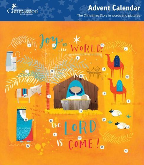Joy to the World Compassion Advent Calendar (Calendar)