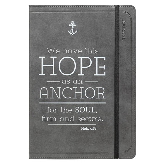 Flexcover Journal: Hope Anchor (Imitation Leather)
