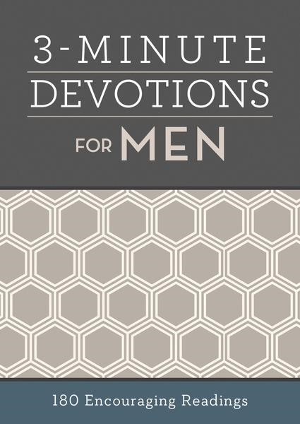 3-Minute Devotions for Men (Paperback)
