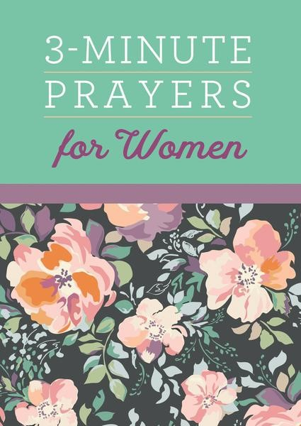 3-Minute Prayers for Women (Paperback)