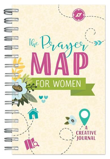 The Prayer Map for Women Journal (Spiral Bound)