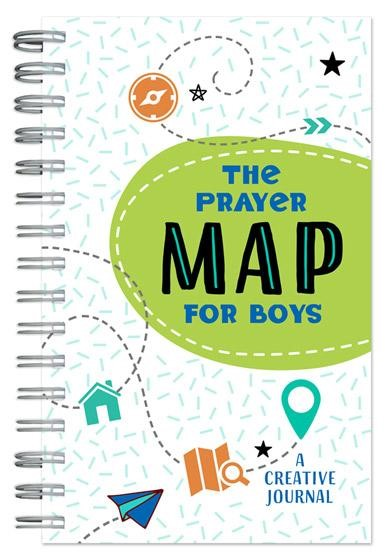 The Prayer Map for Boys Journal