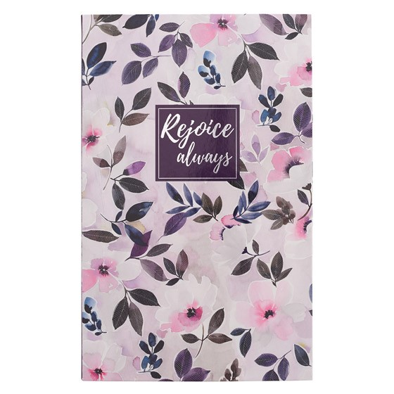 Flexcover Journal: Rejoice Always (Hard Cover)