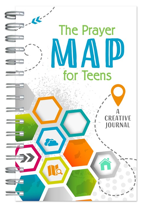 The Prayer Map for Teens Journal (Spiral Bound)