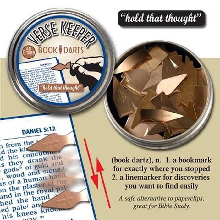 Verse Keeper Book 40 Bronze Darts (General Merchandise)