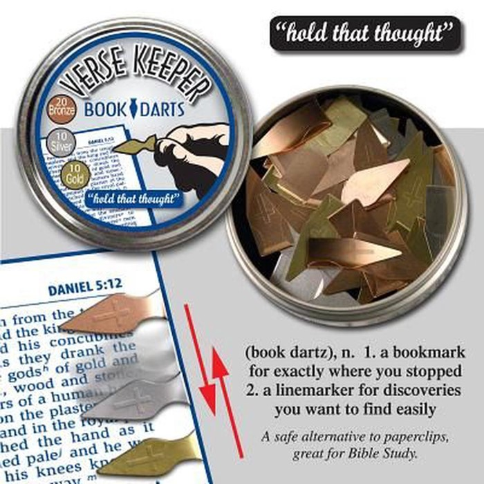 Verse Keeper Book 40 Mixed Darts (General Merchandise)