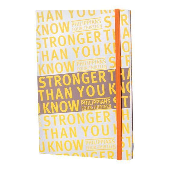 Notebook Journal: Stronger (Paperback)