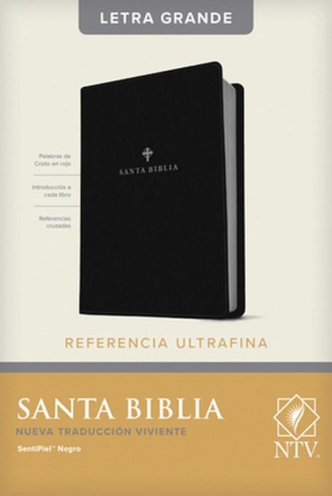 Santa Biblia NTV, Edición de referencia ultrafina, letra gra (Imitation Leather)