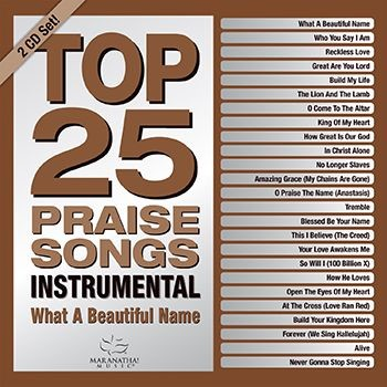 Top 25 Praise Songs Instrumental CD (CD-Audio)