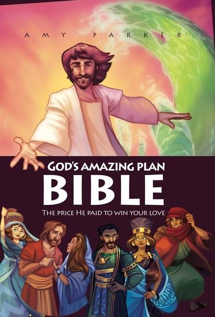God's Amazing Plan Bible (Hard Cover)