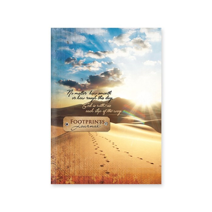 Journal: Footprints  Hardcover (Hard Cover)