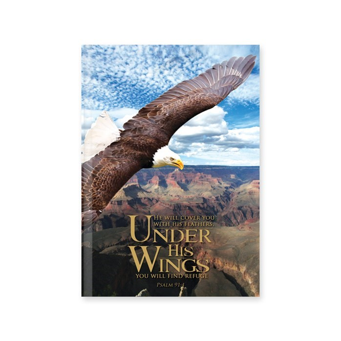 Journal: Under His Wings  Hardcover (Hard Cover)