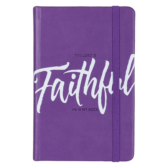 Lux Notebook: Faithful (Imitation Leather)