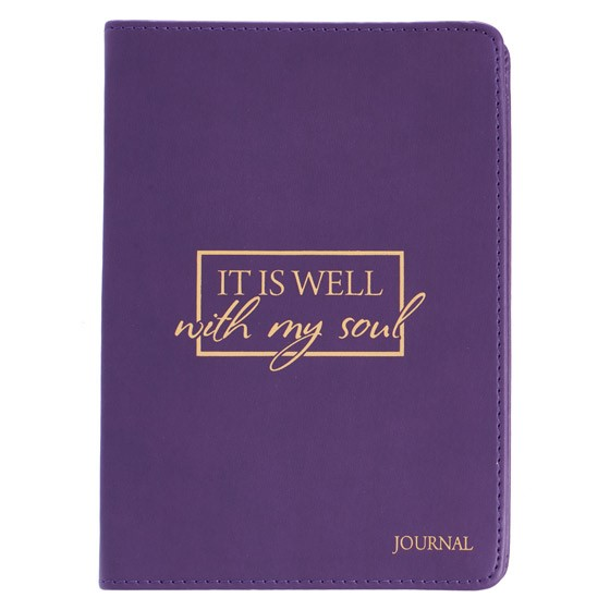Handy LL Journal: It Is Well (Imitation Leather)