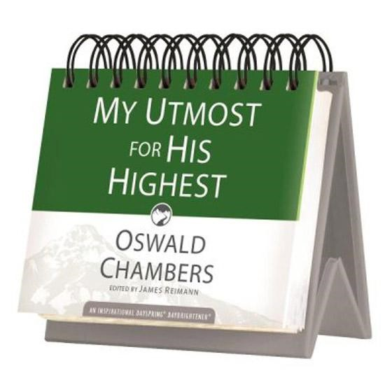 DayBrightener: My Utmost For His Highest (Calendar)