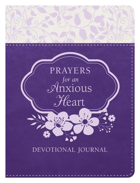 Prayers/Anxious Heart Devotional Journal (Imitation Leather)