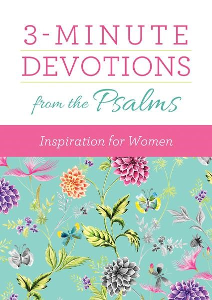 3-Minute Devotions from the Psalms (Paperback)