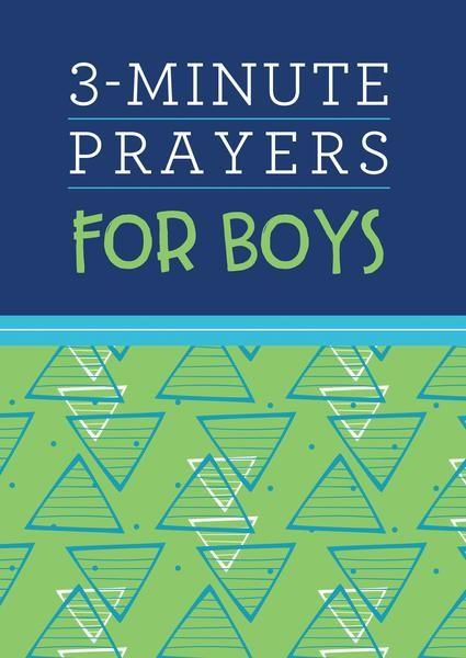 3-Minute Prayers for Boys (Paperback)
