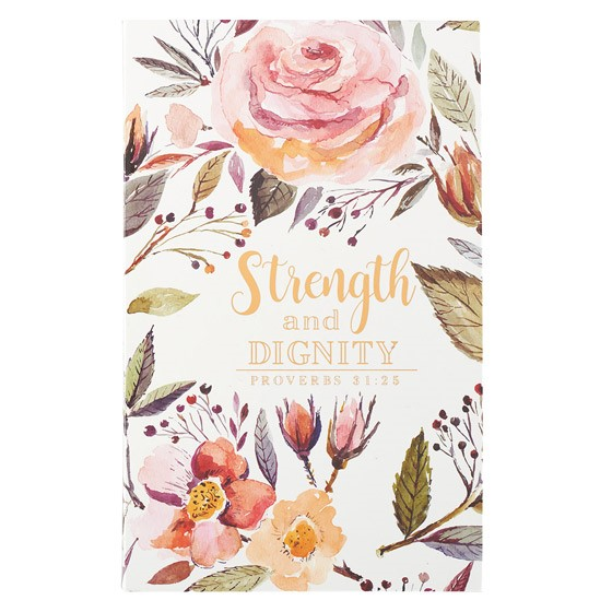 Flexcover Journal: Strength & Dignity (Paperback)