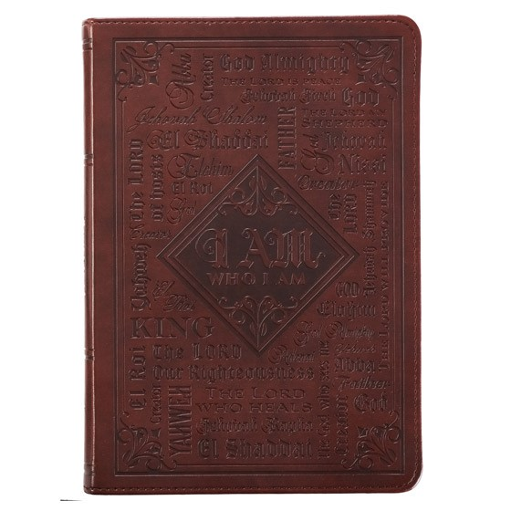 LuxLeather Journal: Names of God (Imitation Leather)