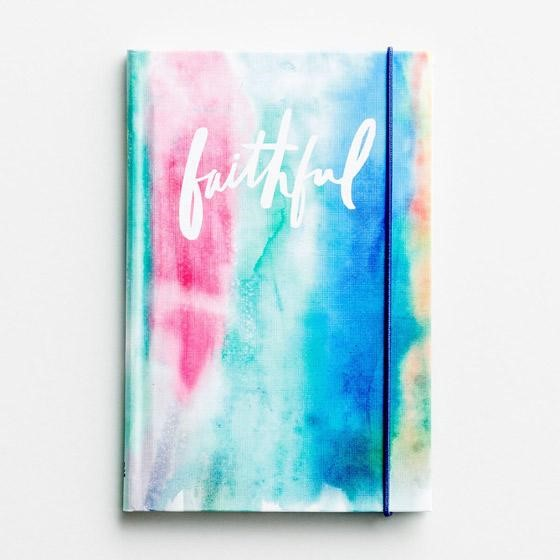Banded Journal: Faithful (Hard Cover)