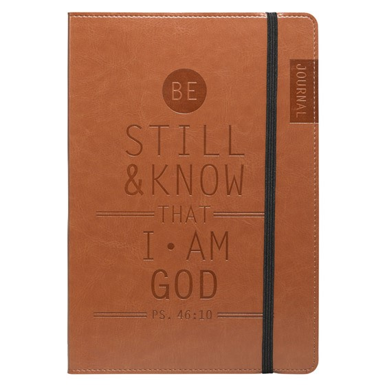 Flexcover Journal: Be Still and Know (Imitation Leather)