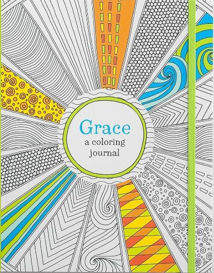 Colouring Journal: Grace (Paperback)