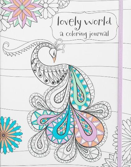 Colouring Journal: Lovely World (Paperback)