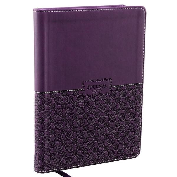 Journal: Purple Lux Leather