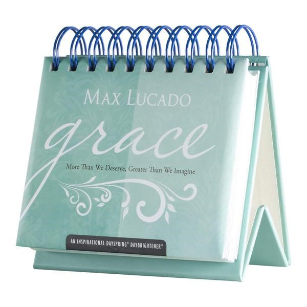 Day Brightner: Grace, More Than We (Lucado) (Calendar)
