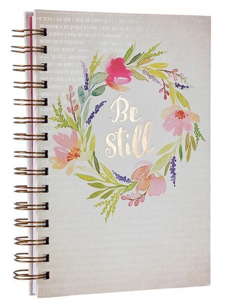 Wiro Journal: Be Still (Spiral Bound)