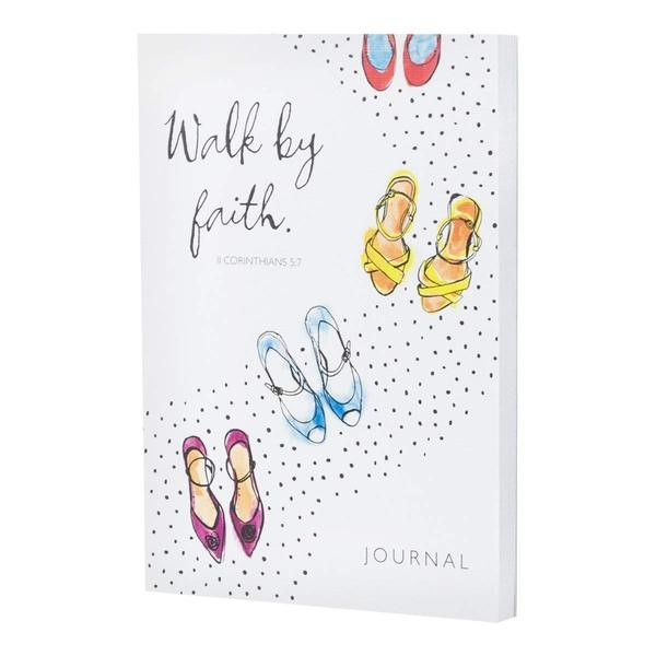 Notebook Journal: Walk By Faith (Paperback)