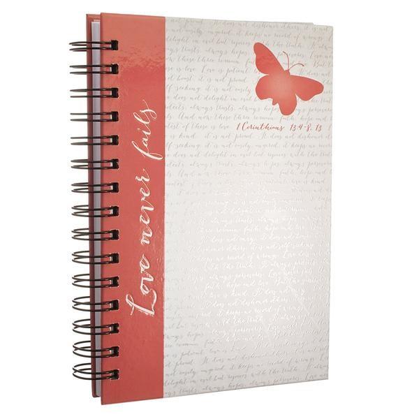 Wiro Journal: Butterfly (Spiral Bound)