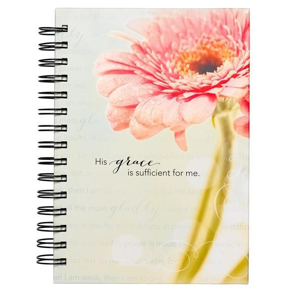 Wiro Journal: Flower/Grace (Spiral Bound)