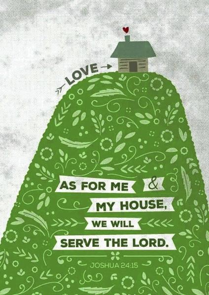 As For Me - Hill and House A4 Print