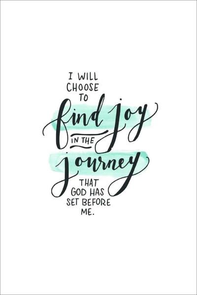 I Will Choose to Find Joy A4 Print (General Merchandise)