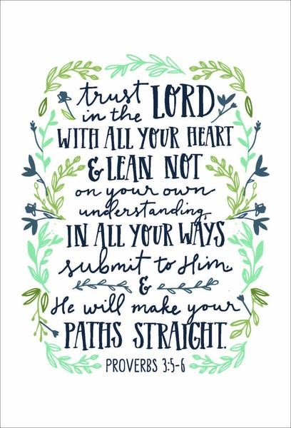 Trust in the Lord A4 Print (General Merchandise)