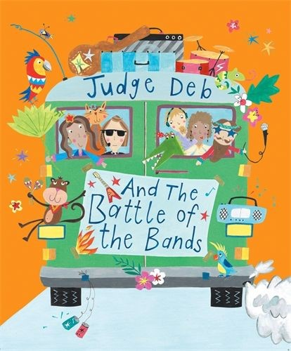 Judge Deb and the Battle of the Bands (Paperback)