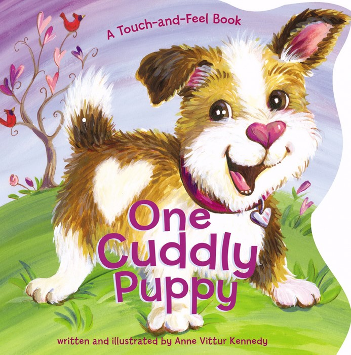 One Cuddly Puppy (Board Book)