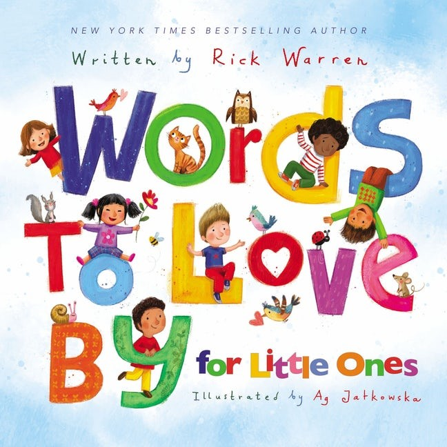 Words to Love By for Little Ones (Board Book)
